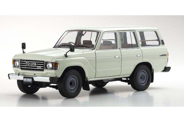 KYOSHO ORIGINAL 1/18scale Toyota Land Cruiser 60 (White)  [No.KS08956W]