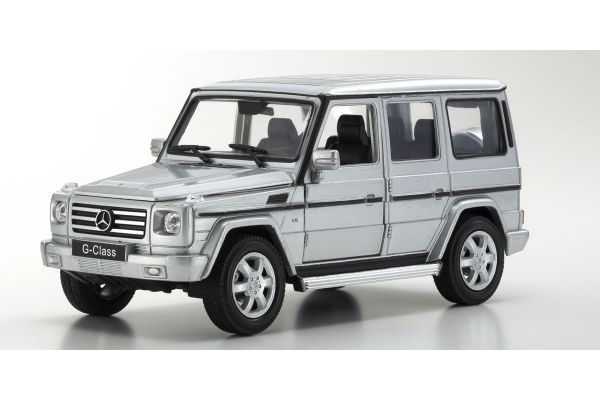 WELLY 1/24scale Mercedes-Benz G-Class Silver [No.WE24012S]