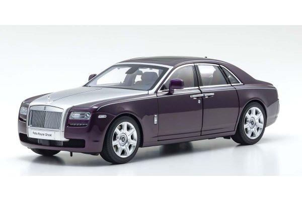 KYOSHO ORIGINAL 1/18scale Rolls-Royce Ghost (Twilight Purple / Silver)  [No.KS08802TPS]