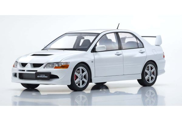 Super A 1/18scale MITSUBISHI Lancer Evolution VIII (White)  [No.KA3202013]