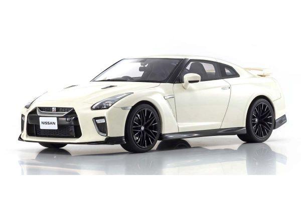 京商 サムライ 1/18 日産 GT-R 2020 限定 700個 ホワイト KSR18044W