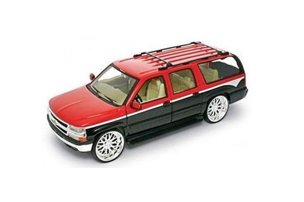 WELLY 1/24scale Chevrolet Suburban 2001 Red [No.WE22090R]