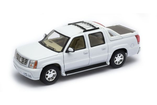 WELLY 1/24scale Cadillac Escalade EXT 2002  White   [No.WE22430W]