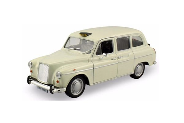 WELLY 1/24scale Austin FX4 London Taxi Pearl Ivory [No.WE22450TXW]