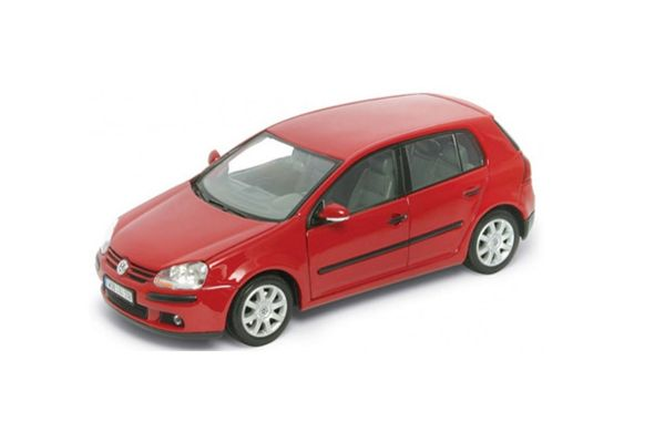 WELLY 1/24scale VW Golf V Red [No.WE22458R]