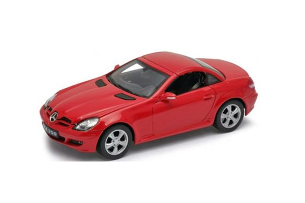 WELLY 1/24scale Mercedes-Benz SLK hardtop Red [No.WE22462HR]