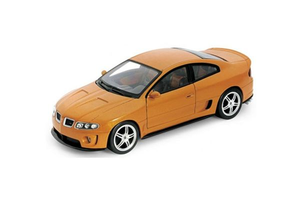 WELLY 1/24scale Pontiac GTO RAM AIR 6 2005  Gold   [No.WE22468GL]