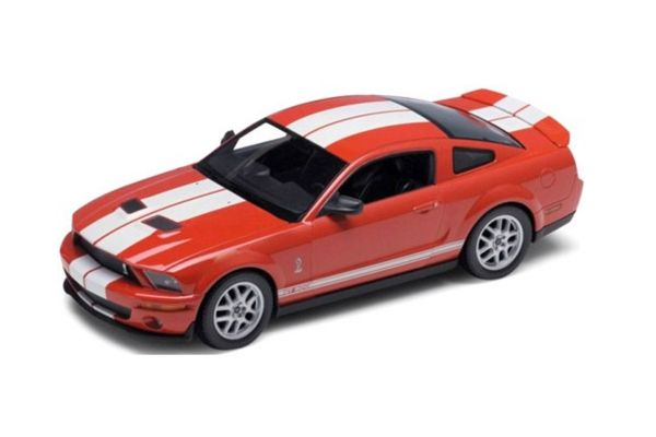 WELLY 1/24scale Shelby Cobra GT500 2007 Red [No.WE22473R]