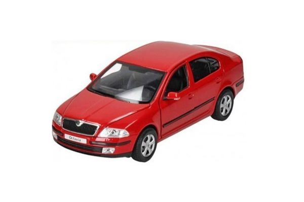 WELLY 1/24scale SKODA OCTAVIA Red [No.WE22474R]