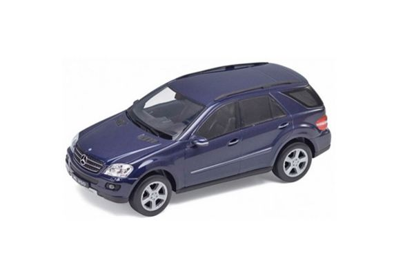 WELLY 1/24scale Mercedes-Benz ML350 Blue [No.WE22480BL]