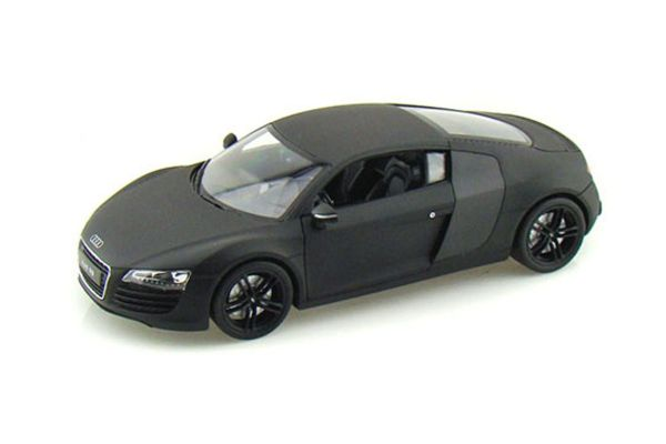 WELLY 1/24scale Audi R8 Matte Black [No.WE22493MBK]