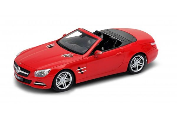 WELLY 1/24scale 2012 Mercedes-Benz SL500 convertible Red  [No.WE24041CR]
