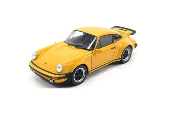 WELLY 1/24scale Porsche 911 Turbo 3.0 1974 Yellow [No.WE24043Y]