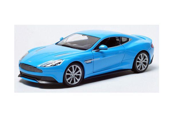WELLY 1/24scale Aston Martin Vanquish BLUE [No.WE24046BL]