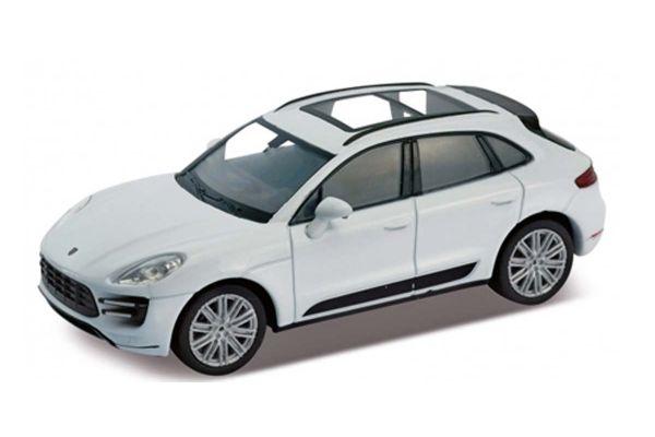 WELLY 1/24scale Porsche Macan Turbo (White)  [No.WE24047W]