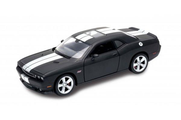 WELLY 1/24scale Dodge Challenger SRT 2013 Matte Black  [No.WE24049MBK]