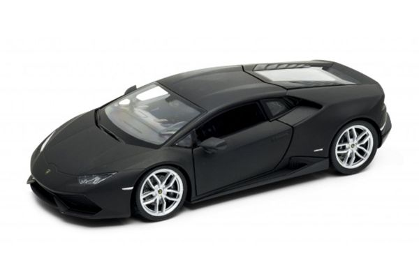 WELLY 1/24scale Lamborghini Huracan LP610-4 Matte Black  [No.WE24056MBK]