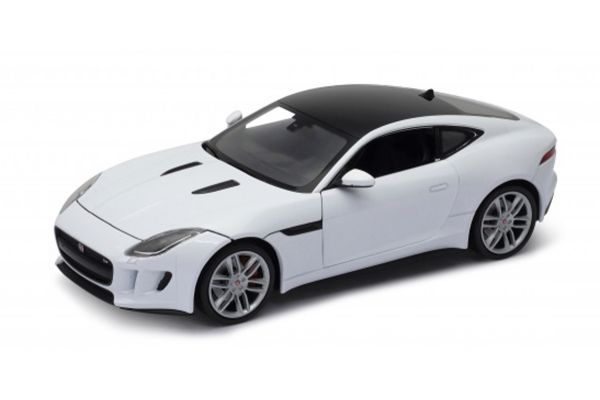 WELLY 1/24scale Jaguar F-Type Coupe White [No.WE24060W]