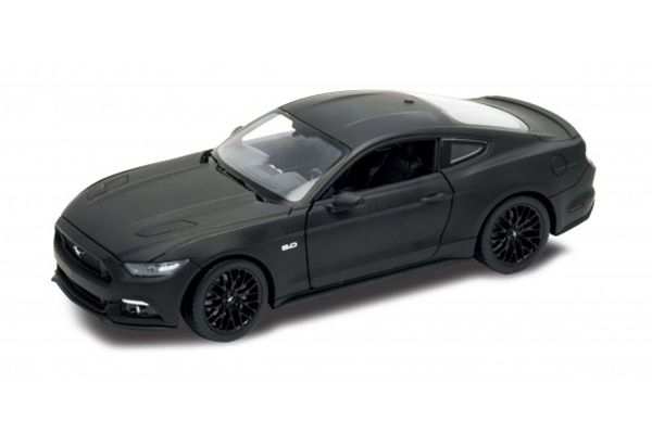WELLY 1/24scale Ford Mustang GT 2015 Black [No.WE24062BK]