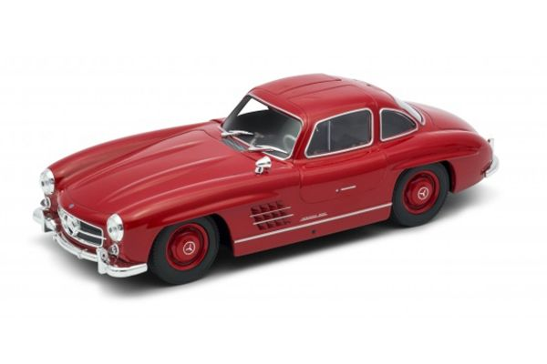 WELLY 1/24scale Mercedes-Benz 300SL Red [No.WE24064R]