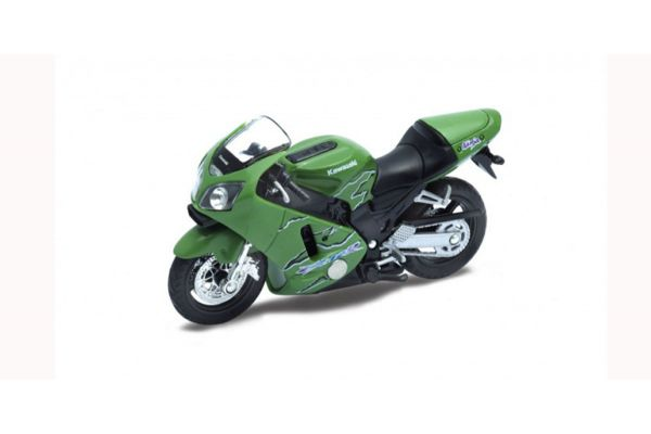 WELLY 1/18scale Kawasaki 2001 Ninja ZX-12R Green  [No.WE12167PW]