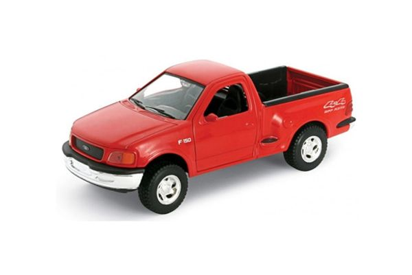 WELLY 1/24scale 1998 Ford F-150 regular cab pickup FLARESIDE Red [No.WE29391R]
