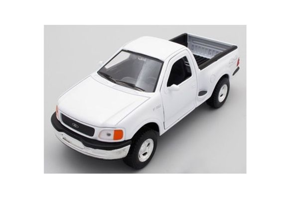 WELLY 1/24scale 1998 Ford F-150 regular cab pickup FLARESIDE White [No.WE29391W]
