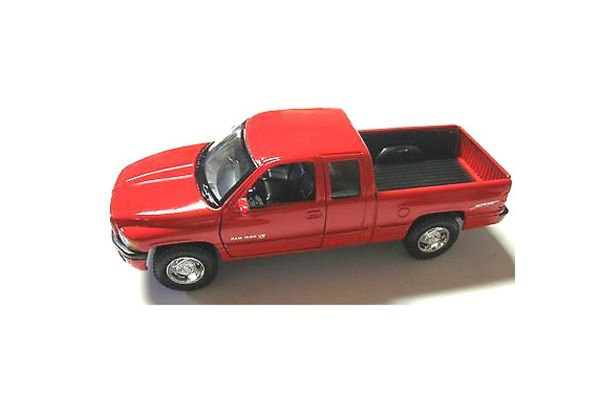 WELLY 1/24scale Free wheel Dodge Ram Quad Cab 1500 Sports Red [No.WE29392R]