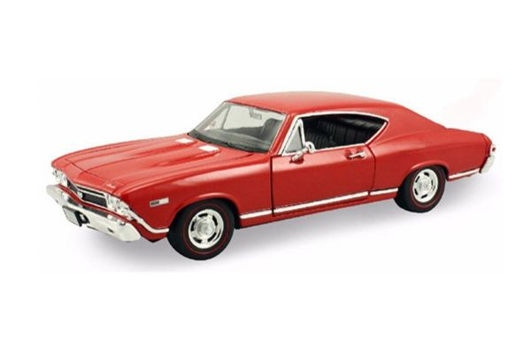 WELLY 1/24scale 1968 Chevrolet Chevelle SS Red [No.WE29397R]