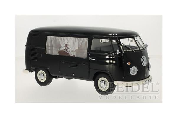 Premium ClassiXXs 1/18scale VW T1 funerary car 1960 Black  [No.PCS30085]