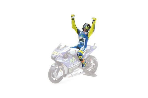 MINICHAMPS 1/12scale FIGURINE VALENTINO ROSSI WINNER AUSTRALIAN GP MOTOGP 2014  [No.312140146]