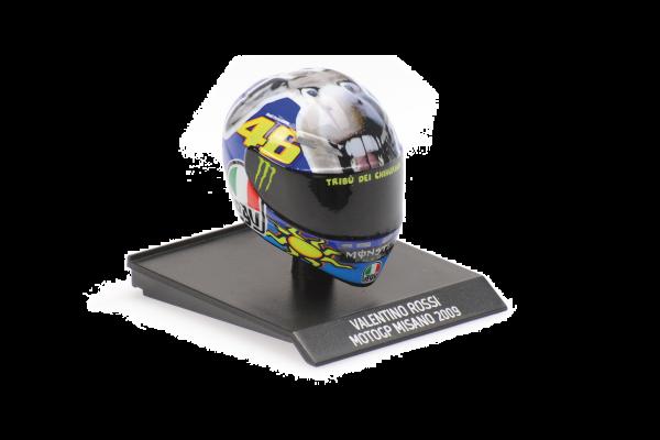 MINICHAMPS 1/10scale AGV Helmet Valentino Rossi MotoGP Misano 2009  [No.315090056]
