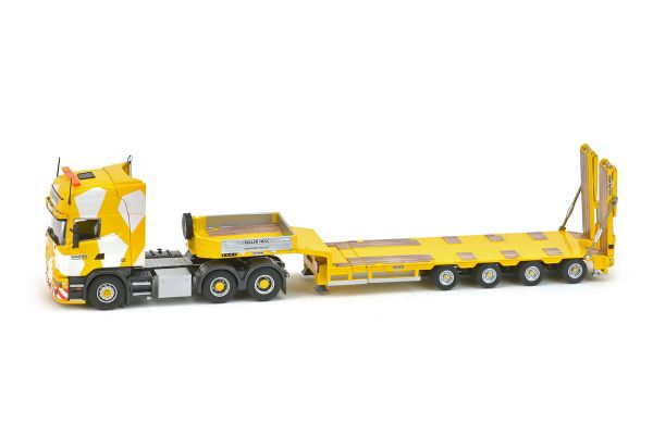 IMC Models 1/50scale Scania R4 top line 6 × 4 Goldhofer 4-axis semi low loader