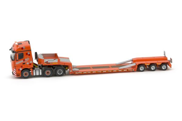 IMC Models 1/50scale Mercedes-Benz Actros 2 big space 6×2 & Goldhofer 3 axle low loader