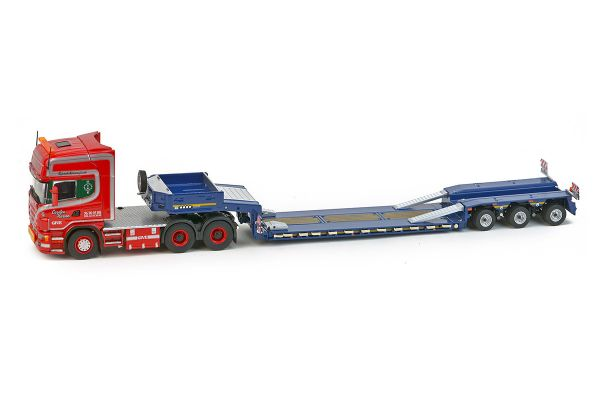 IMC Models 1/50scale Scania top line 6 × 4 Goldhofer 3-axis low-loader