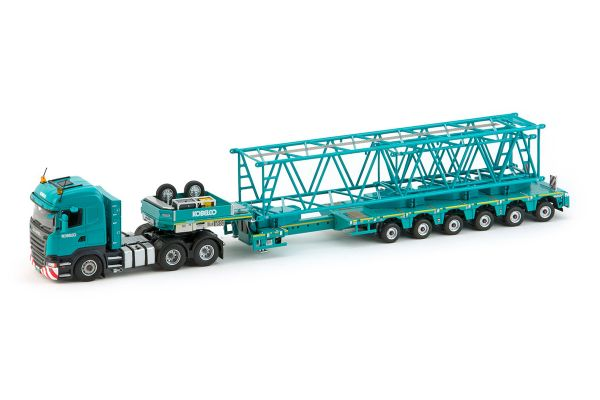 IMC Models 1/50scale Scania R500 High Line 6 × 4 + Nooteboom Multi-PX6 Axle Semi Low Loader  [No.IMC330017]