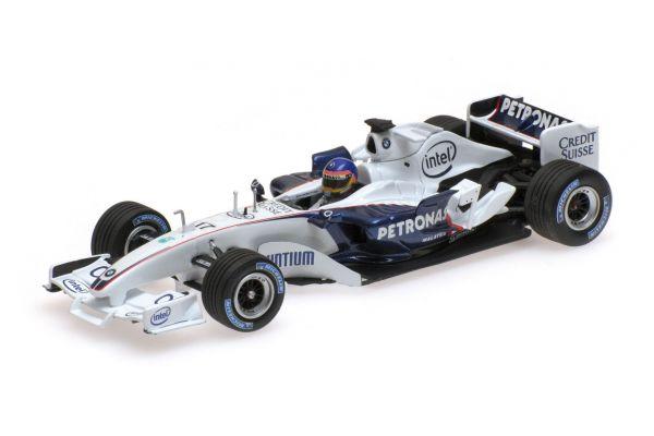 MINICHAMPS 1/43scale SAUBER BMW C24B – JACQUES VILLENEUVE – F1 TEST VALENCIA FEBRUARY 2006  [No.400060903]