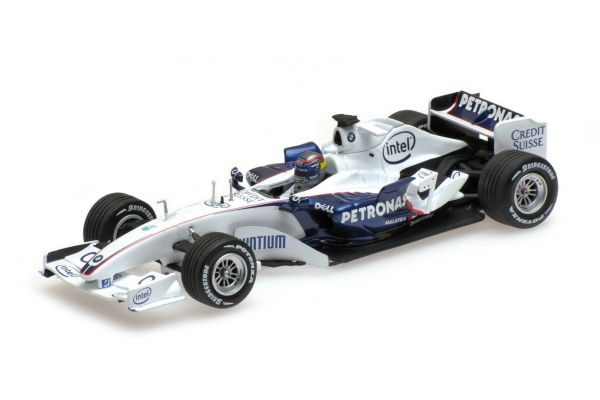 MINICHAMPS 1/43scale SAUBER BMW C24B – ALESSANDRO ZANARDI – F1 TEST VALENCIA NOVEMBER 25TH 2006  [No.400060904]