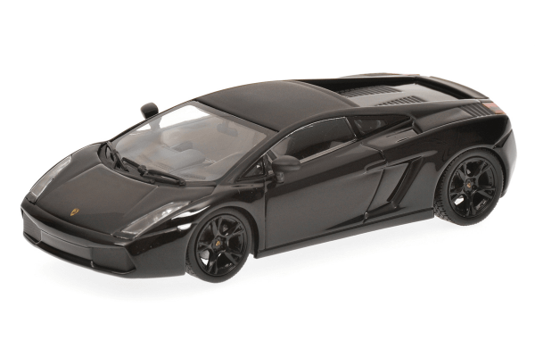 MINICHAMPS 1/43scale LAMBORGHINI GALLARDO – 2006 – BLACK  [No.400103504]