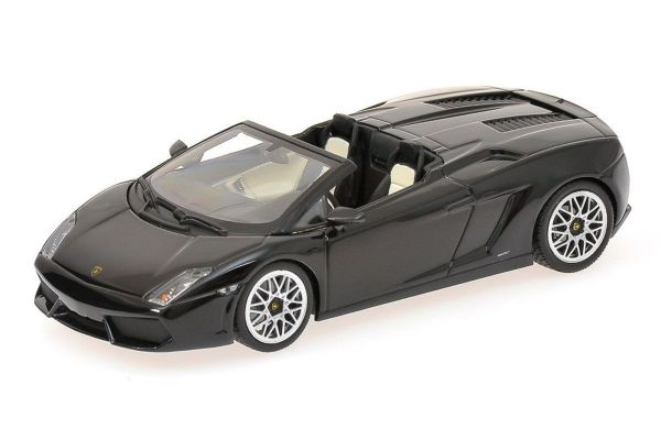 MINICHAMPS 1/43scale LAMBORGHINI GALLARDO LP 560-4 SPYDER – 2009 – BLACK  [No.400103830]