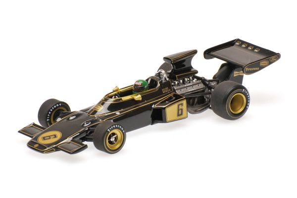 MINICHAMPS 1/43scale LOTUS FORD 72 – REINE WISELL – CANADIAN GP 1972  [No.400720006]