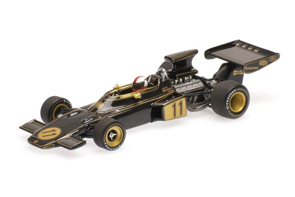 MINICHAMPS 1/43scale LOTUS FORD 72 – DAVE WALKER – USA GP 1972  [No.400720011]