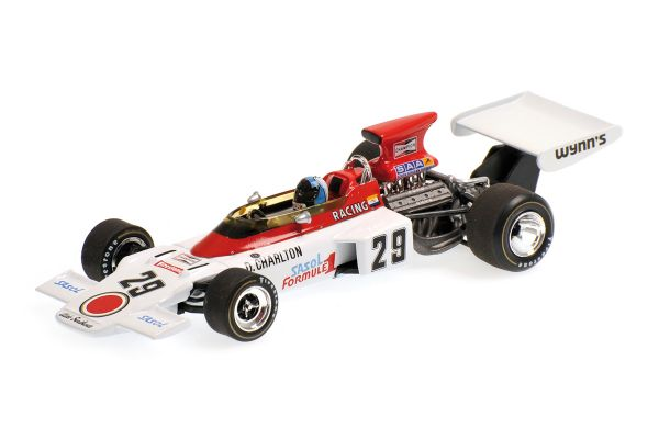 MINICHAMPS 1/43scale LOTUS FORD 72D – DAVE CHARLTON – BRITISH GP 1972  [No.400720029]