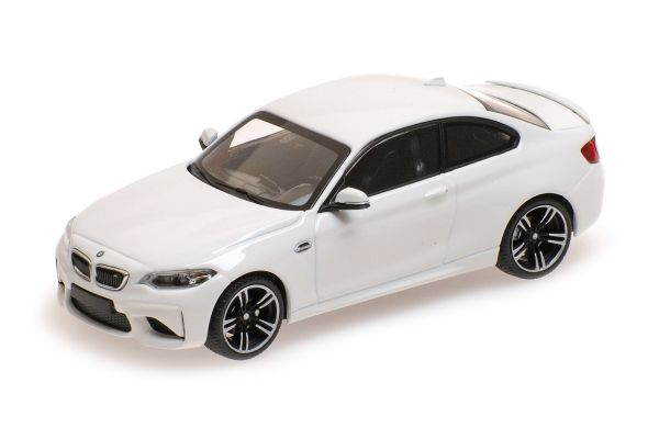 MINICHAMPS 1/43scale BMW M2 – 2016 – WHITE [No.410026104]
