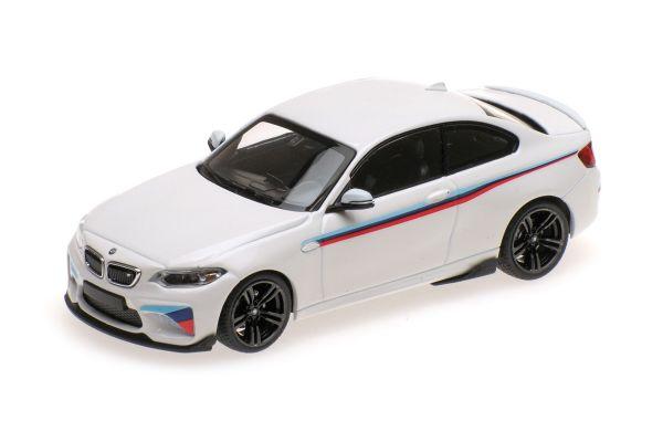 MINICHAMPS 1/43scale BMW M2 – 2016 – WHITE – PRESENTATION  [No.410026105]