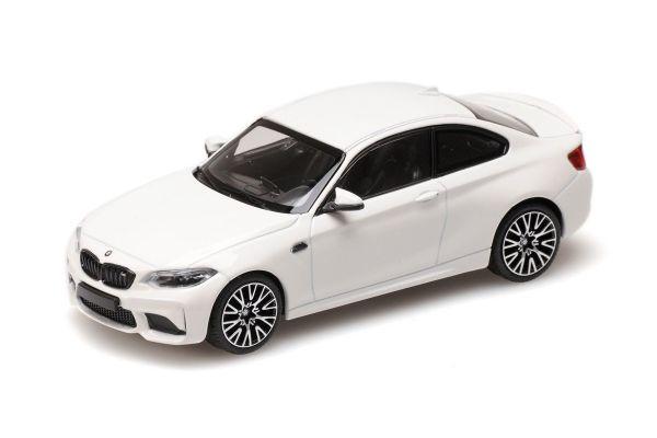 MINICHAMPS 1/43scale BMW M2 COMPETITION – 2019 – WHITE  [No.410026200]