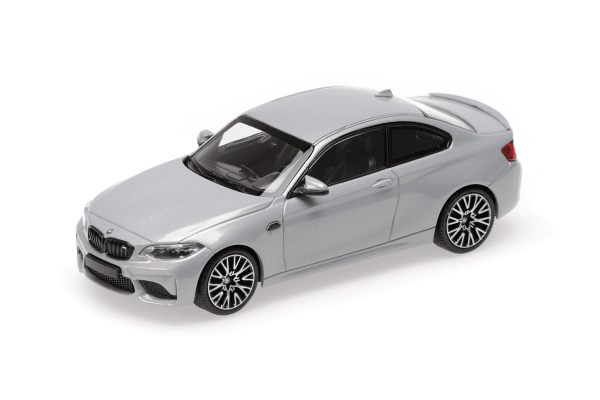 MINICHAMPS 1/43scale BMW M2 Competition 2019 Silver  [No.410026205]