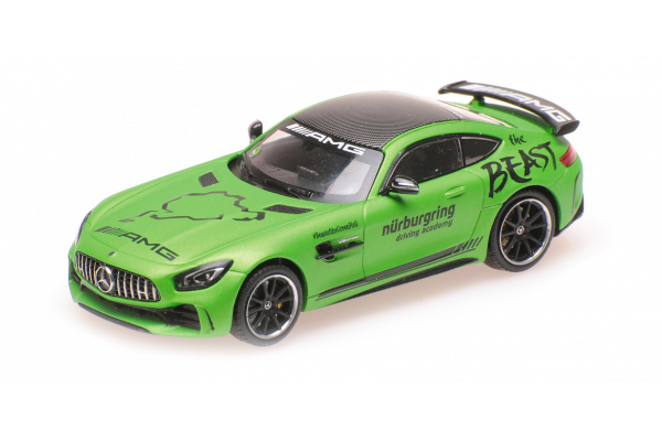 MINICHAMPS 1/43scale Mercedes AMG GT-R 2017 Link Taxi  [No.410038091]