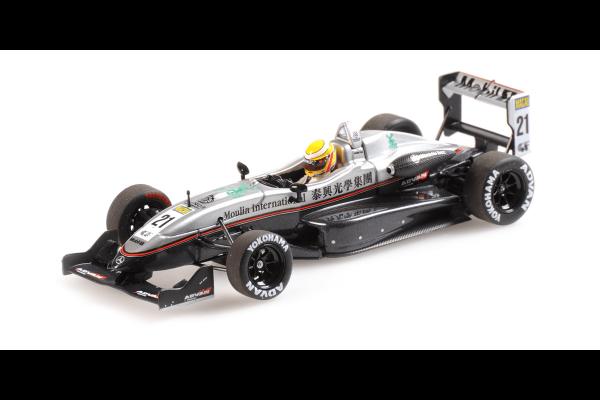 MINICHAMPS 1/43scale DALLARA MERCEDES F302 – LEWIS HAMILTON – MACAU GP 2004  [No.410040321]