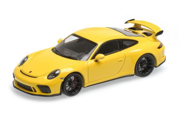 MINICHAMPS 1/43scale PORSCHE 911 GT3 – 2017 – YELLOW  [No.410066020]